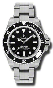 Rolex Submariner Steel (Style No: 114060) from SwissLuxury.Com