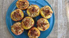 Honey-Nut Baked Peaches : Recipes : do it Delicious