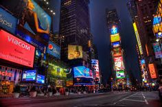 Beautiful HDR photo of Times Square in New York City - May Business Trip Packing, Packing Tips For Travel, Business Travel, Comedy Clubs Nyc, San Diego City, Monica Belluci, Times Square New York, East Coast Road Trip, Travel Icon