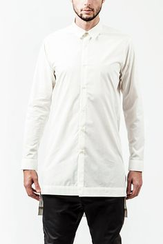 White Shirt Long Modern Ultra High Quality Slim Fit MEN SHIRT