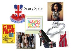 """""""scary spice"""" by tabitha-escoe ❤ liked on Polyvore featuring Un Deux Trois, Fantasy Jewelry Box, Iron Fist and Scoop"""