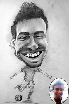 Caricatura_1 - Desen în Creion de Ionuț Mureșan // Caricature_1 - Pencil Drawing by Ionuț Mureșan