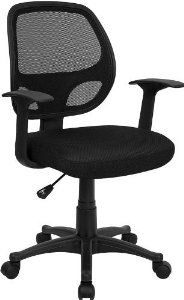 Flash Furniture High Back Mesh Chair.Flash Furniture HL 0001 GG Mid Back Black Mesh Office . High Back Black Mesh Multifunction Swivel Ergonomic Task . High Back Black And Gray Vinyl Executive Office Chair With . Home Design Ideas Stylish Chairs, Cool Chairs, Bar Chairs, Side Chairs, Dining Chairs, Lounge Chairs, Dining Table, Nylons, Best Office Chair