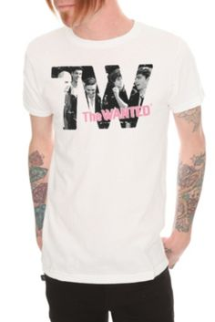 The Wanted Photo Slim-Fit T-Shirt            WHO LOVES ME SO MUCH THAT THEY WOULD BUY ME THIS SHIRT?!?!?!? I WILL LOVE U EVEN MORE!!