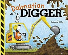Dalmation in a Digger