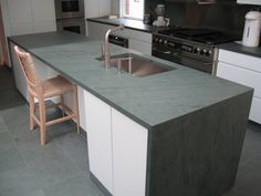 Slate Countertops For Your Bathroom and Kitchen Slate kitchen