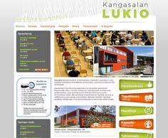 Projektina: Kotisivut yhdessä päivässä workshopissa.  http://www.kangasalanlukio.fi/