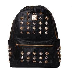 Designer MCM Studded Backpack_015 #mcm #backpack #bag