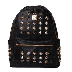 Designer MCM Studded Backpack_015 #mcm #backpack #bag