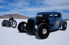 A hot rod is a specific type of automobile that has been modified to produce more power for racing straight ahead. The hot rod originated in the early twentieth century in the United States and continued in popularity over several decades until a decline in the 1970s. It was then that street rods took over; …