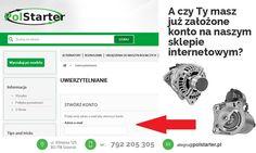 ⚫ A czy Ty założyłeś już konto na naszym SKLEPIE INTERNETOWYM? Jeśli nie, to zrób to jak najszybciej! Dla zarejestrowanych użytkowników mamy przygotowane PROMOCJE! ⚫ Nasze aukcje w serwisie allegro:  ➜ http://allegro.pl/listing/user/listing.php?us_id=22287661&order=m ➜ http://allegro.pl/listing/user/listing.php?us_id=26261890&order=m ⚫ Odwiedź także naszą stronę internetową: ➜ www.polstarter.pl ⚫ KONTAKT: 📲 792205305 ✉ allegro@polstarter.pl #rozrusznik #rozruszniki #alternator #alternatory
