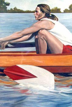Rowing –by Karl Gude