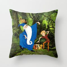 Disney's The Sword in the Stone Decorative Pillow by foreverwars, $45.00