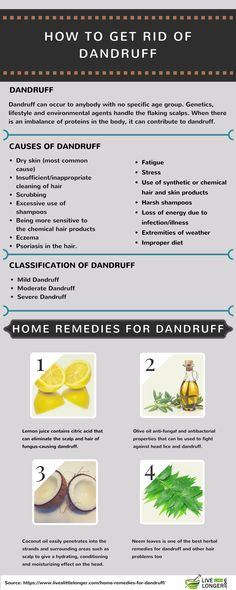Tired of dealing with those embarrassing itch accompanied with flaking scalp? Then it's important that you read this article. We will list you some amazing herbs and home remedies for dandruff. But, we also don't want to give you false assurances; there is no permanent cure for dandruff.Before we list the natural ways to get rid of dandruff, know a few things.