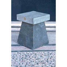 Moderniser une table avec une plaque de zinc