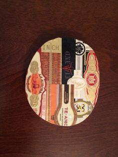 Custom made Cigar Band Coaster #1 of 4