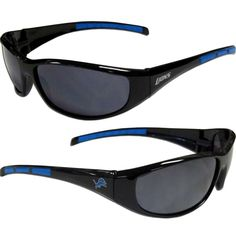 Detroit Lions Wrap Sunglasses