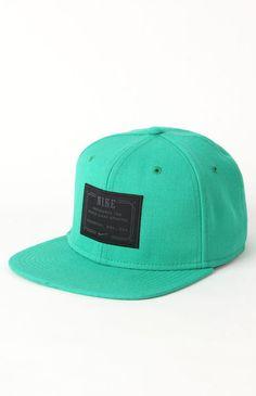 Mens Nike Backpack - Nike Lock Up Green Snapback Hat 31307a271c8