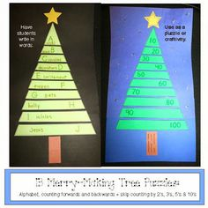 Classroom Freebies: Tree Puzzles