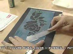 Gislene no Ateliê na TV - Falso Latonagem - YouTube Интересная техника создания текстуры с помощью мастихина и структурной пасты