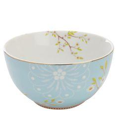 Blue Blossom Print Bowl, PiP Studio
