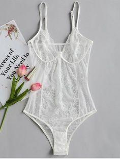 3ccd836b0c6 40 best White sheer lingerie I love!! images on Pinterest in 2018 ...