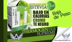 Thermogen Tea Limón Supreme - Red Grupo Angeles