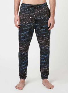 Black Paint Splat Loungewear Joggers