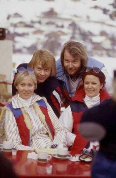 ABBA in Leysin, Switzerland 1979