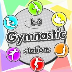 Gymnastic stations for PE – A complete sport unit with over 60 activities for the trampoline, wedge, bars, floor mats, beams and more