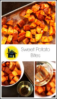 Oven Baked Sweet Potato Bites - I've been on a sweet potato kick!