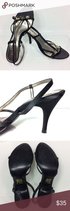 """Selling this UNLISTED by KENNETH COLE Black 4"""" Slingback 8 on Poshmark! My username is: katgartin. #shopmycloset #poshmark #fashion #shopping #style #forsale #Kenneth Cole #Shoes"""