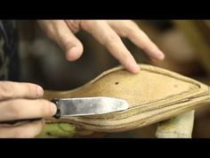 How to Build a Boot- Preparing the Insole (part 2) - YouTube