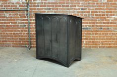 The 42 Hostess Stand made by Vintage Industrial Furniture in Phoenix. Perfect and adaptable for any restaurant!
