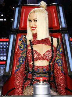 Bit awkward: Gwen Stefani said she was going to keep singer Brandon Royal from her boyfrie...