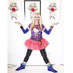 Betsey Johnson Hello Kitty Art - two of my favorite things!!!