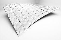 Grasshopper - Estructura 3D a partir de superficie [3D Losa]