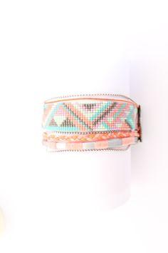 Bracelet multi-rangs perles Miyuki : Bracelet par la-ruche-creation