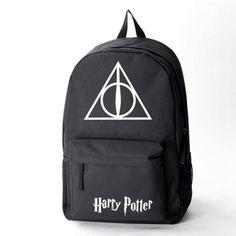 b56f49cbe5f2 Harry Potter Backpack School Bags Book Student Bag Cosplay Hogwarts Fashion  Shoulder Bag Backpacks Travel Bag