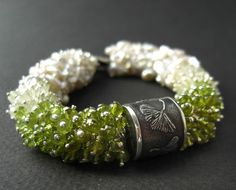 Ginkgo and Sakura bracelet