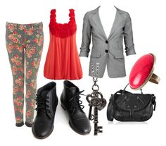 """""""red roses too"""" by aud-eliz ❤ liked on Polyvore"""