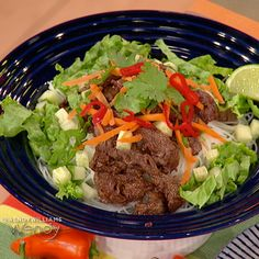 """""""The Kitchen"""" co-host Katie Lee tells us about her new cookbook, """"Endless Summer"""" and shows us how to make Vietnamese Beef and Noodle Salad Bowls."""