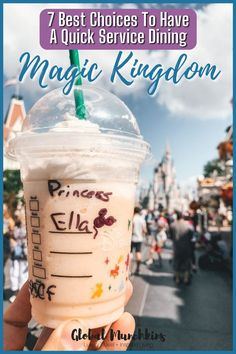 There are so many rides and so many Fast Passes to hit up at Magic Kingdom, quick service dining is pretty much a must. Well, no more begrudging the past because the Magic Kingdom has stepped up their game and has some great quick service dining options. Here is our list of the Best Magic Kingdom Quick Service Dining options. #traveltips #disneytravel #disney Magic Kingdom Quick Service, Magic Kingdom Food, Disney World Parks, Disney World Planning, Walt Disney World Vacations, Disney Worlds, Disney Travel, Disney World Tips And Tricks