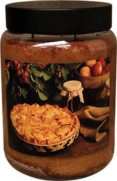 Hot Apple Pie Jar Candle - Kruenpeeper Creek Country Gifts