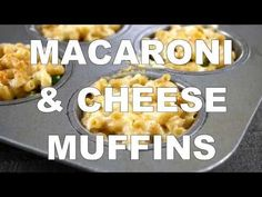 Macaroni and Cheese Muffins Recipe - Real Food Real Deals