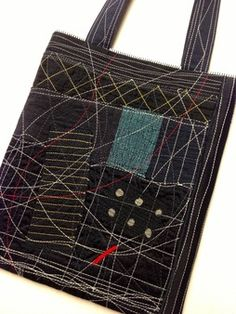 Bag with Green and Blue side A