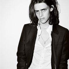 Classic and contemporary. Ben in Burberry suiting for 2016, shot by Mario Testino