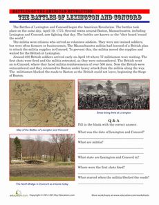 the battle of bunker hill american history comprehension and british. Black Bedroom Furniture Sets. Home Design Ideas