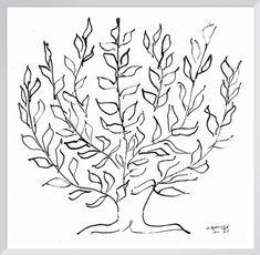 The Plain Tree, 1951 (Silkscreen print) Silkscreen Print by Henri Matisse | King & McGaw