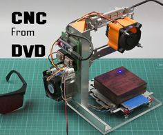 Hello everybody, this is project How-ToDo, today I'll show you how I made a laser engraver from old DvD drives. Before we start I have to say that as most of my...